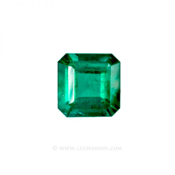 Colombian Emeralds, Asscher Cut Emeralds, Over 2.50 Carat  leewasson.com -10010 -1