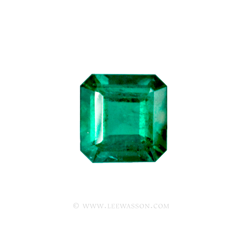 Colombian Emeralds, Square Cut Emeralds, Over 2.50 Carat leewasson.com -10010 -1