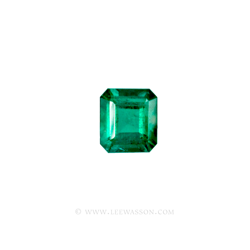 Colombian Emeralds, Square Cut Emeralds, Over 2.50 Carat leewasson.com -10010 -2