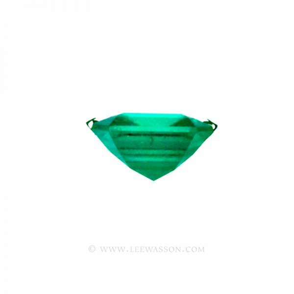 Colombian Emeralds, Square Cut Emeralds, Over 2.50 Carat leewasson.com -10010 -3