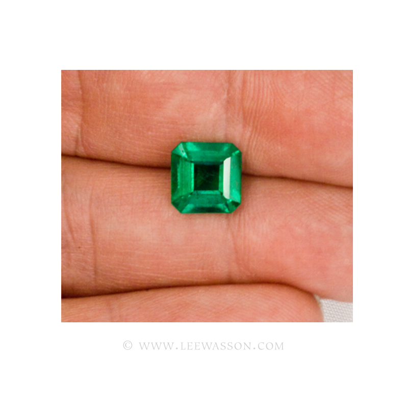 Colombian Emeralds, Square Cut Emeralds, Over 2.50 Carat leewasson.com -10010 -4