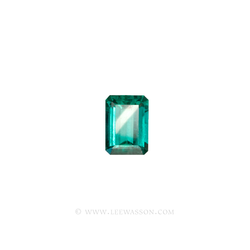Colombian Emeralds, Emerald cut Emeralds. leewasson.com - 10012 - 2