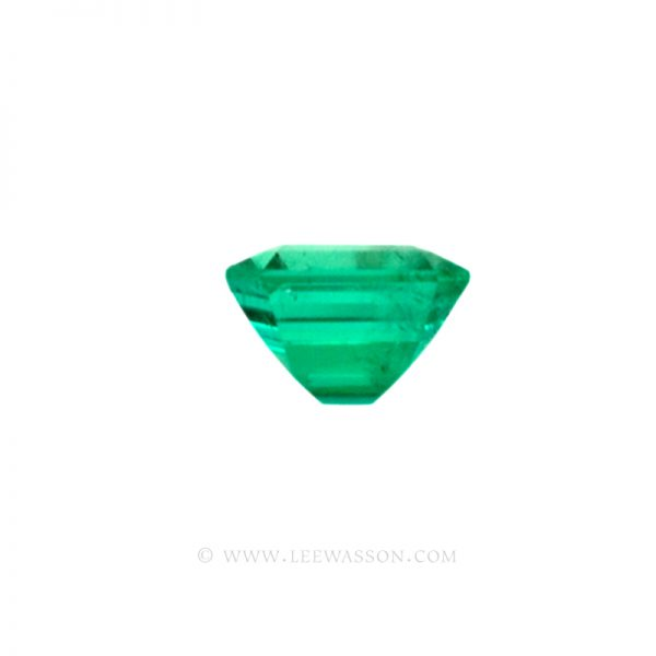 Colombian Emeralds, Asscher cut, Square Cut Emeralds - leewasson.com - 10023 -2