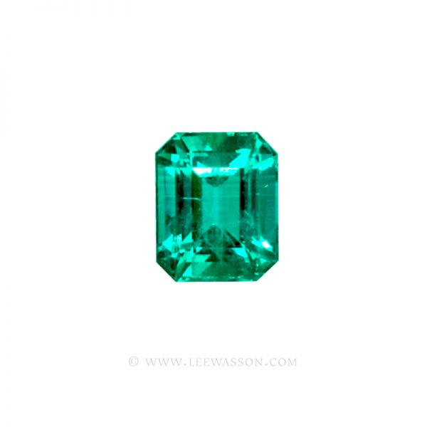 Colombian Emeralds, Emerald Cut Emeralds, Over. 4.50 Carats. leewasson.com - 10026 - 1