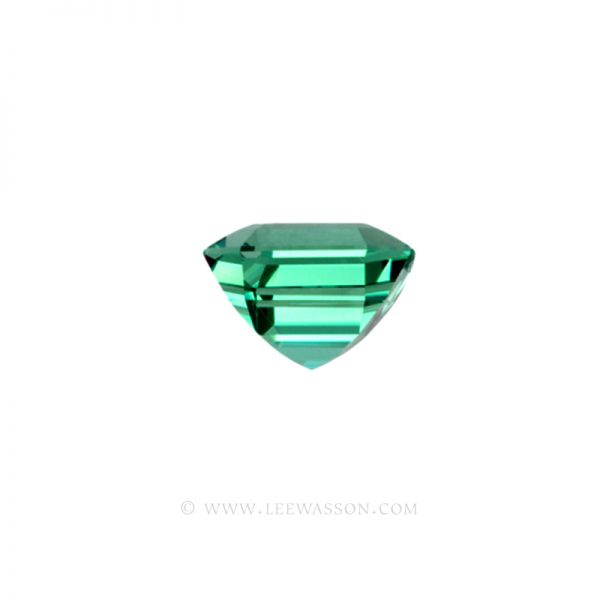 Colombian Emeralds, Asscher cut Emeralds, Natural Loose Colombian Emeralds - leewasson.com - 10031 -2