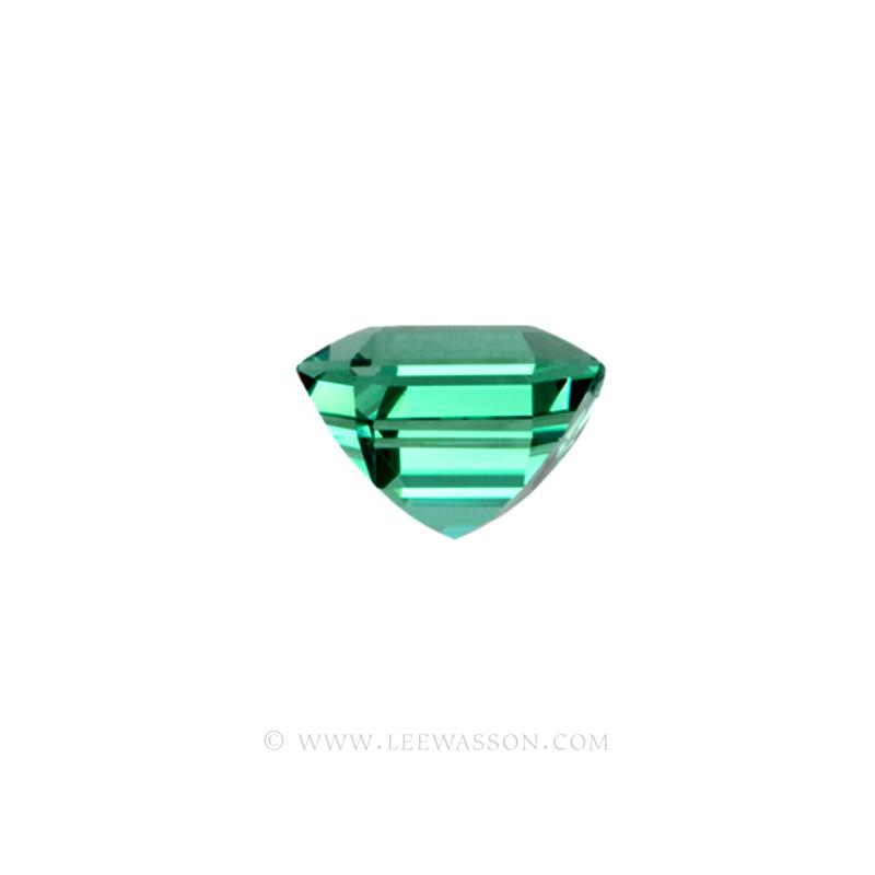 Colombian Emeralds, Asscher cut Emeralds, Natural Loose Colombian Emeralds - leewasson.com - 10031 -2
