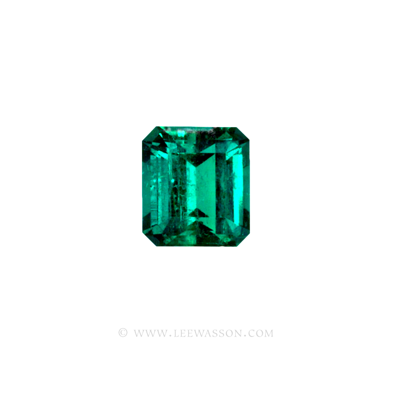 Colombian Emeralds, Emerald Cut natural Emeralds in18k Gold Jewelry. - 10033 - 2