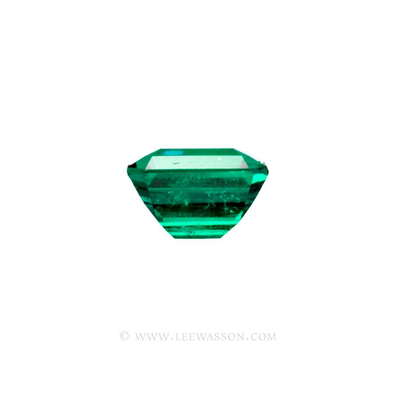 Colombian Emeralds, Emerald Cut natural Emeralds in18k Gold Jewelry. - 10033 - 3