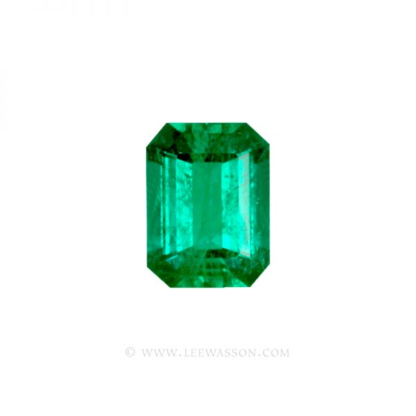 Colombian Emeralds, Emerald Cut Emeralds Over 6.00 Carats. leewasson.com - 10034 - 1