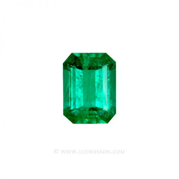 Colombian Emeralds, Emerald cut Emeralds. leewasson.com - 1 - 10034