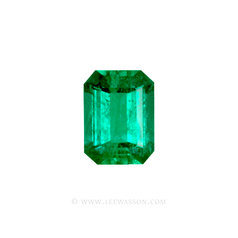 Colombian Emeralds, Emerald cut Emeralds. leewasson.com - 10034 - 1