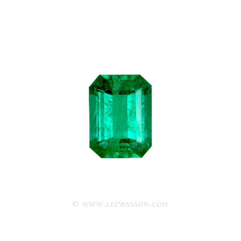 Colombian Emeralds, Emerald cut Emeralds. leewasson.com - 10034 - 2