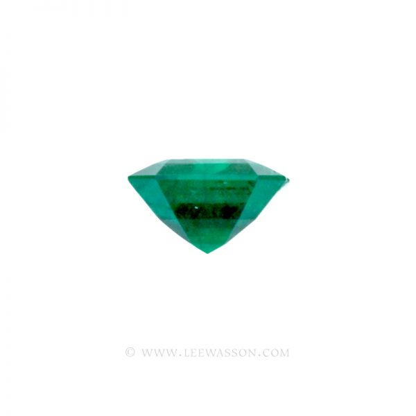 Colombian Emeralds, Emerald cut Emeralds. leewasson.com - 10034 - 3