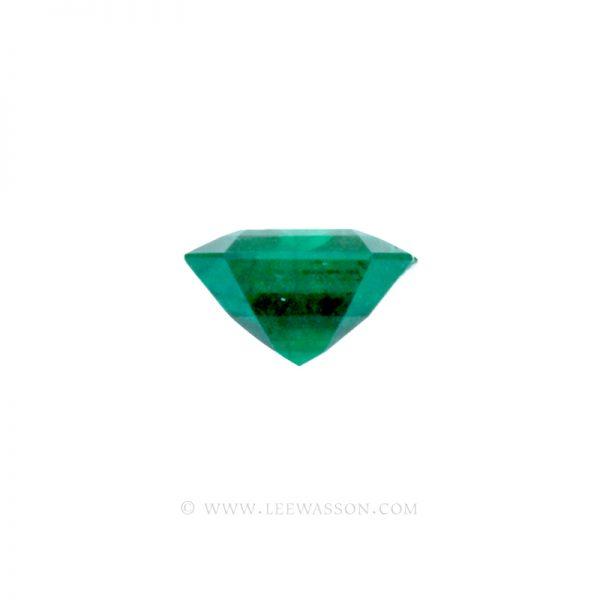 Colombian Emeralds, Emerald cut Emeralds. leewasson.com - 2 - 10034