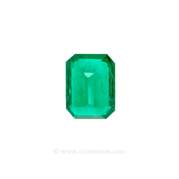 Colombian Emeralds, Emerald cut Emeralds. leewasson.com - 10034 - 4
