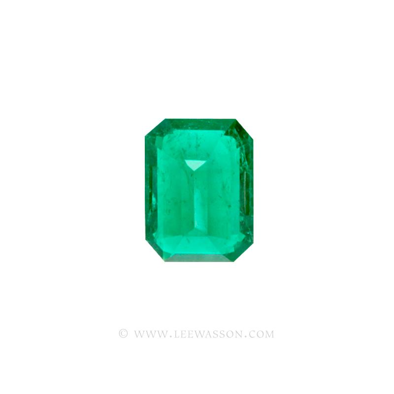 Colombian Emeralds, Emerald cut Emeralds. leewasson.com - 10034 - 4
