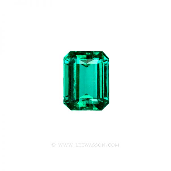 Colombian Emeralds, Emerald Cut Emeralds  - leewasson.com - 1 - 10036