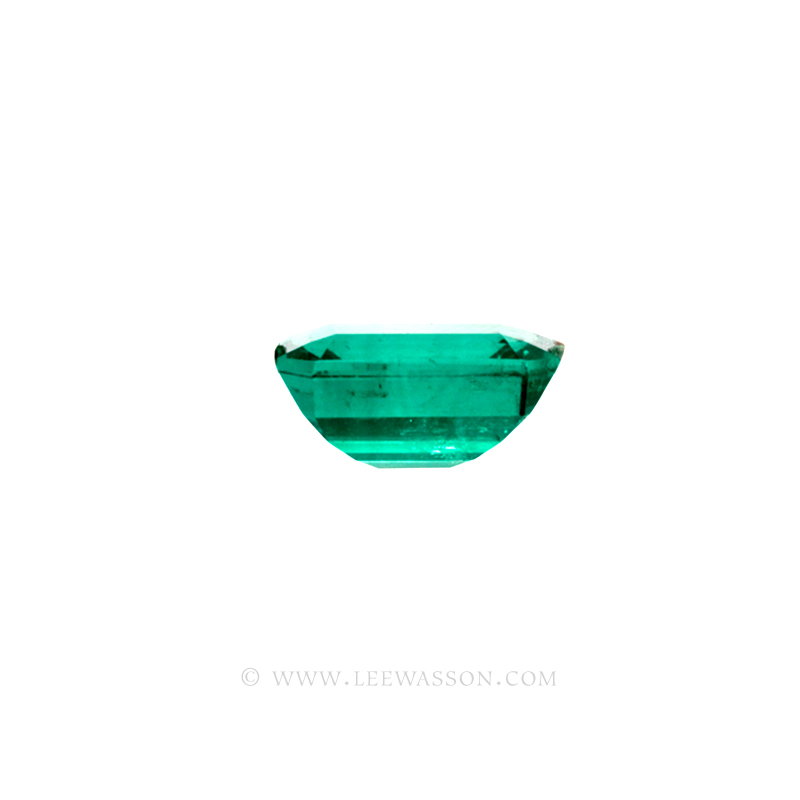 Colombian Emeralds, Emerald Cut Emeralds & 18k Gold Emeralds Jewelry. leewasson.com - 10048 - 3