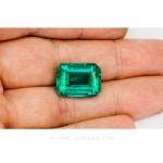 Colombian Emeralds, Emerald Cut Emeralds & 18k Gold Emeralds Jewelry. leewasson.com - 10048 - 5