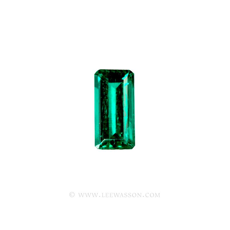 Colombian Emeralds, Baguette cut Emeralds. - leewasson.com - 1006 -1