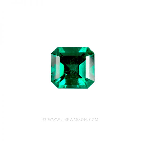 Colombian Emeralds, Emerald cut Emeralds. leewasson.com - 1 - 1007