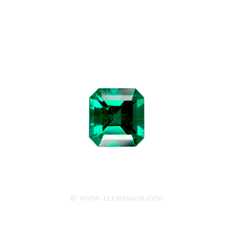 Colombian Emeralds, Emerald cut Emeralds. leewasson.com - 1007 - 1