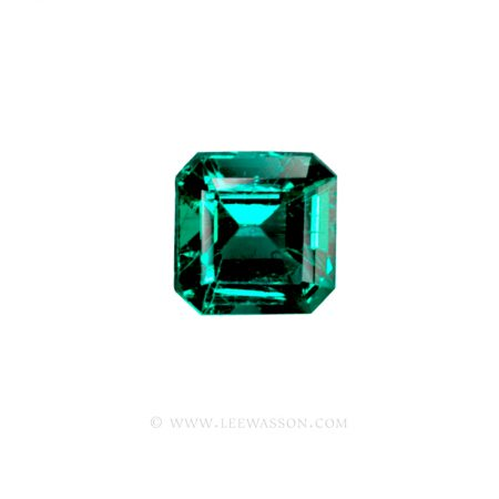 Colombian Emeralds, Square Cut Emeralds, Approx. 3 Carat leewasson.com -1008 -1 Cut Emeralds, Emerald cut Emeralds, Fine Loose Colombian Emeralds, Dazzling Colombian Emerald Jewelry set in 18k Gold Jewelry - leewasson.com - 1 - 1008