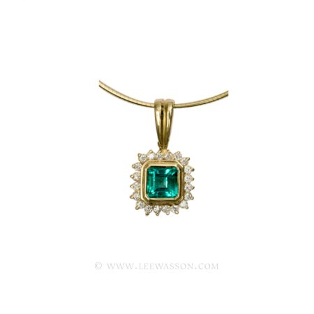 [:en]Lee Wasson´s 19305 Yellow Gold Pendant[:es]Lee Wasson 19305 Pendiente Oro Amarillo
