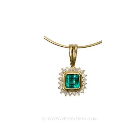 [:en]Lee Wasson´s 19305 Yellow Gold Pendant[:es]Lee Wasson 19305 Pendiente Oro Amarillo