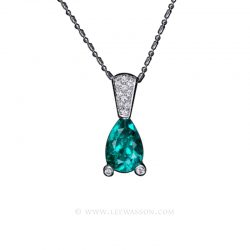 Colombian Emerald Pendant 19398