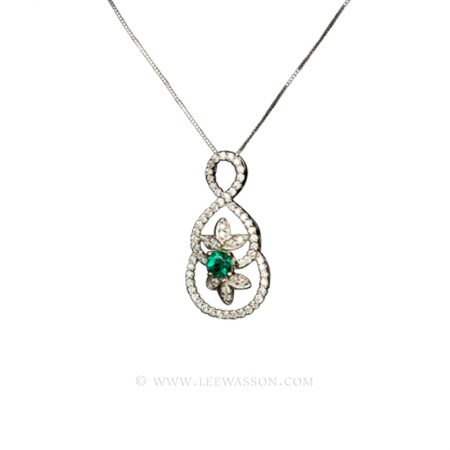 [:en]Lee Wasson´s 19475 White Gold Pendant[:es]Lee Wasson 19475 Pendiente Oro Blanco