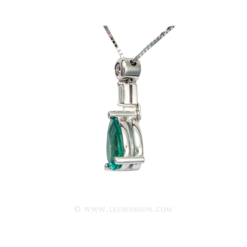 [:en]Lee Wasson´s 19613 White Gold Pendant[:es]Lee Wasson 19613 Pendiente Oro Blanco