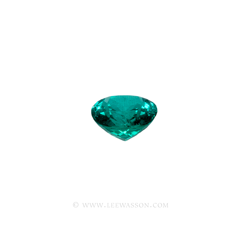 Colombian Emerald, Cushion cut Emeralds, leewasson.com -10061 - 3