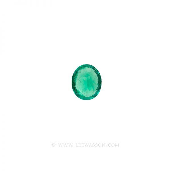 Colombian Emeralds, Oval Cut Emeralds. leewasson.com - 3- 10060