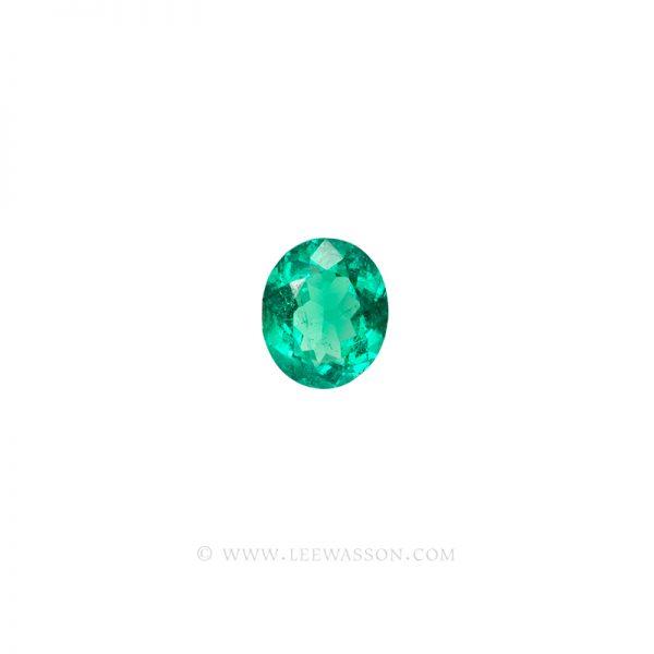 Colombian Emeralds, Oval Shape Emeralds, Approx. 4.00 Carat Emerald, leewasson.com -1- 10060