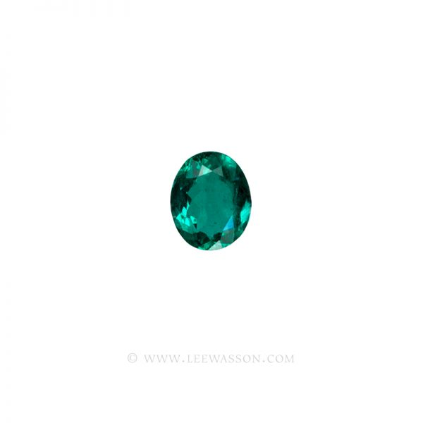 Colombian Emeralds, Oval Shape Emeralds, Approx. 3.00 Carat Emerald, leewasson.com - 1- 10058