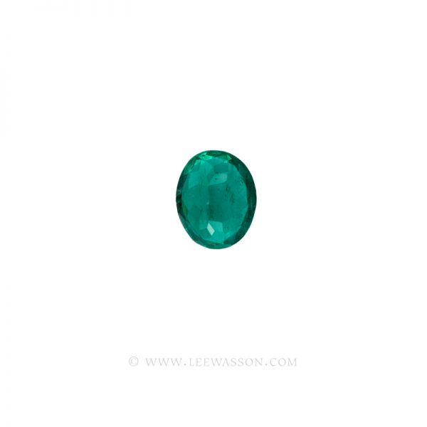Colombian Emeralds, Oval Cut Emeralds. leewasson.com - 3- 10058