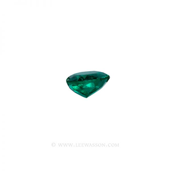 Colombian Emeralds, Oval Cut Emeralds. leewasson.com - 2- 10058