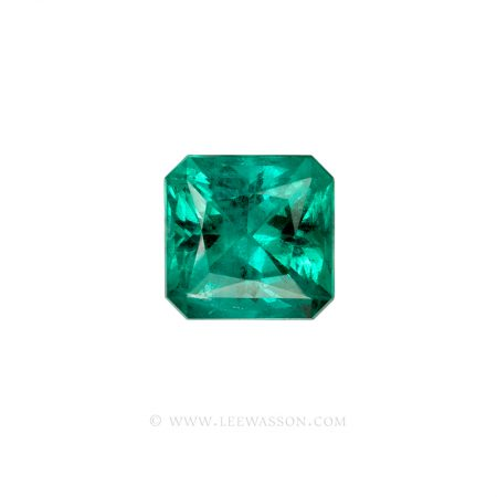 Colombian Emeralds Princess Cut Emeralds. leewasson.com - 10062 - 1
