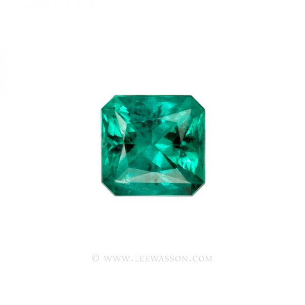 Colombian Emeralds, Princess Cut Emeralds, Over 10.00 Carats. leewasson.com - 10062 - 1