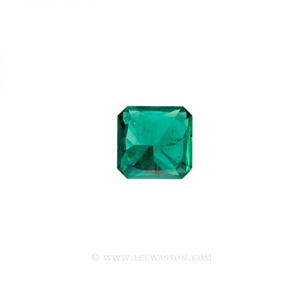 Colombian Emeralds Princess Cut Emeralds. leewasson.com - 10062 - 3