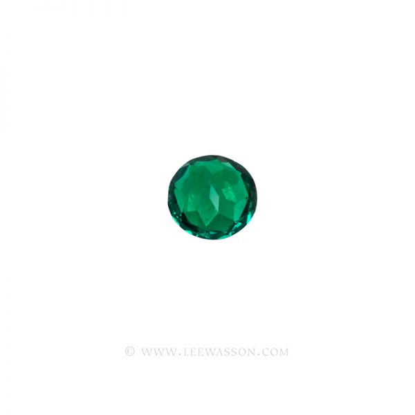 Colombian Emeralds, Round Brilliant Cut Emeralds, Approx. 2.30 Carat. leewasson.com 10057 - 4