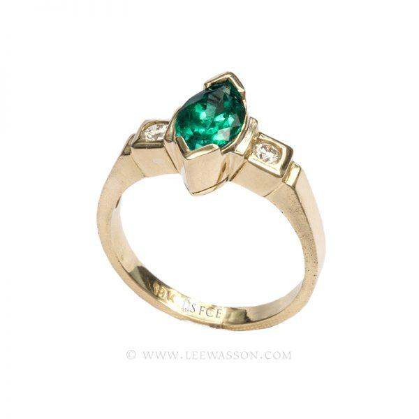[:en]Lee Wasson´s 19589 Yellow Gold Ring[:es]Lee Wasson 19589 Anillo Oro Amarillo