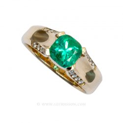 Colombian Emerald Ring 19631