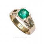 [:en]Lee Wasson´s 19631 Yellow Gold Ring[:es]Lee Wasson 19631 Anillo Oro Amarillo