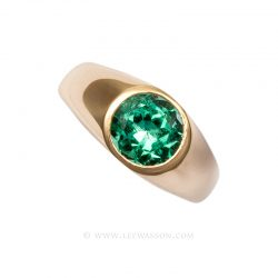 Colombian Emerald Ring 19632