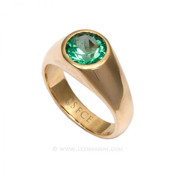 [:en]Lee Wasson´s 19632 Yellow Gold Ring[:es]Lee Wasson 19632 Anillo Oro Amarillo