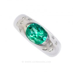 Colombian Emerald Ring 19647