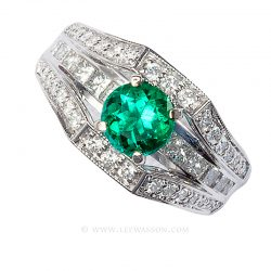 Colombian Emerald Ring 19619