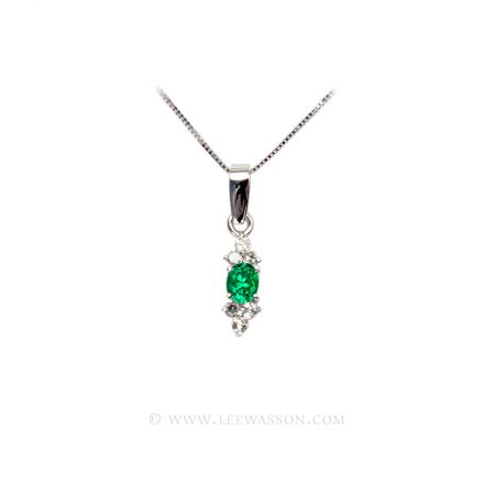 [:en]Lee Wasson´s 19666 White Gold Pendant[:es]Lee Wasson 19666 Pendiente Oro Blanco